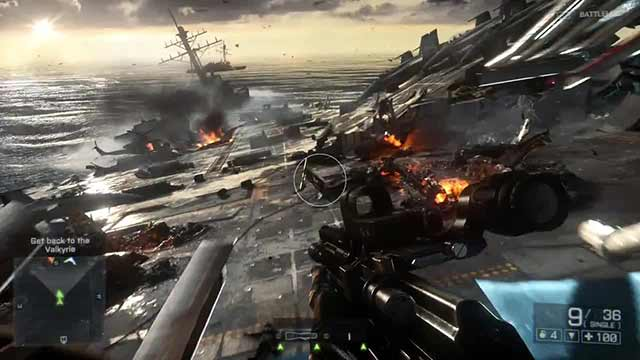 The graphics engine acts at a level unprecedented in everything that makes this Battlefield 4
