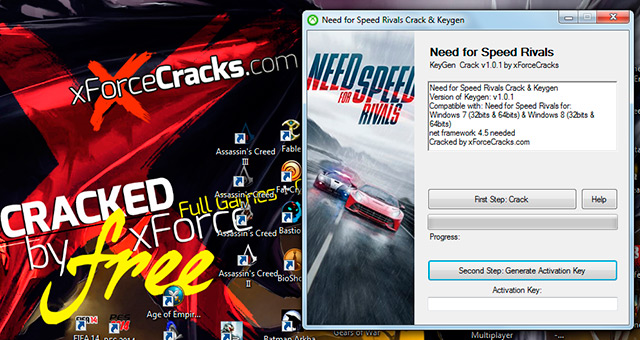 need for speed rivals skidrow crack only