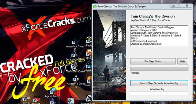 Tom clancys the ision crack v102 cracked by xforce
