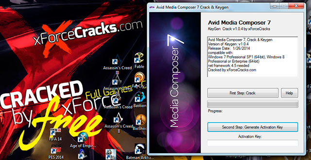 Media Composer 7 cracked by Xforcecracks