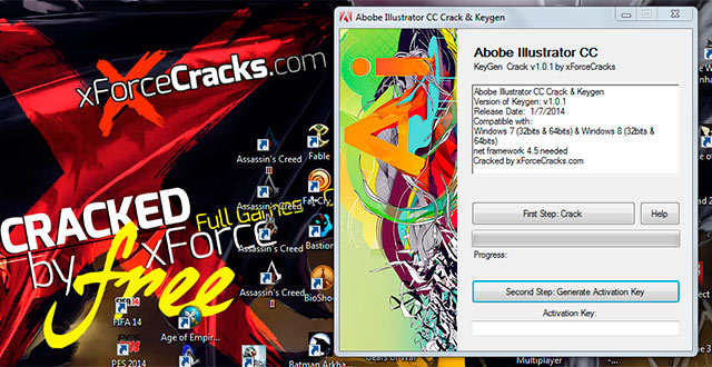 ILLUSTRATOR CC-2014 crack-v101 by xforce