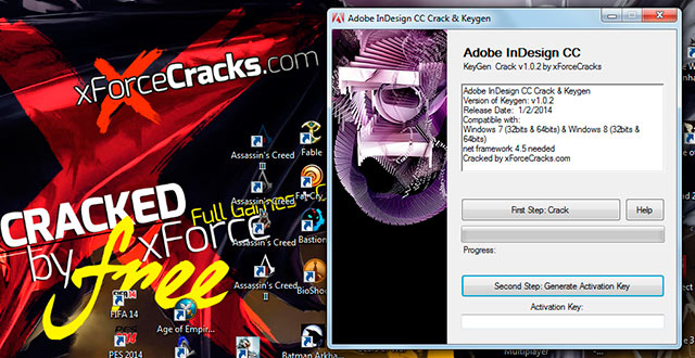 INDESIGN CC 2014 crack-v102 by xforce