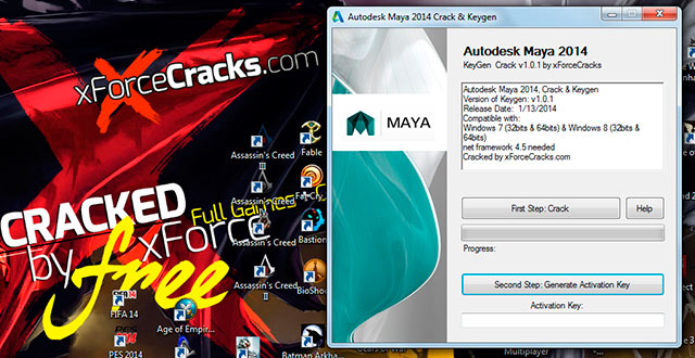 Autodesk maya 2014 free download full version with crack