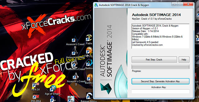 SOFTIMAGE 2014 crack-v101 by xforce