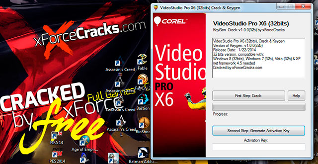 Video Studio ProX6 Crack by XforceCracks