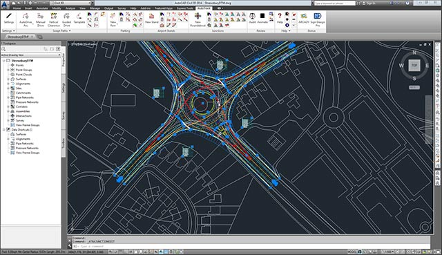Autocad 2014 Screen Shoot Work
