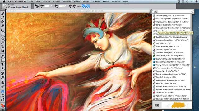 Corel Painter Art Work