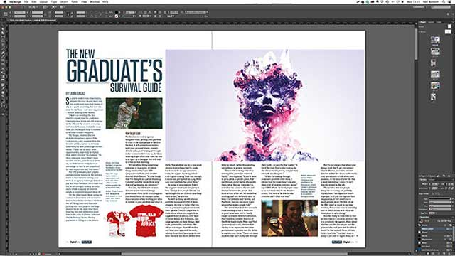 Page Layout in indesign cc