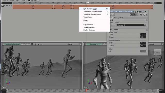 Softimage 2014 Sneak Peek video Sequencer