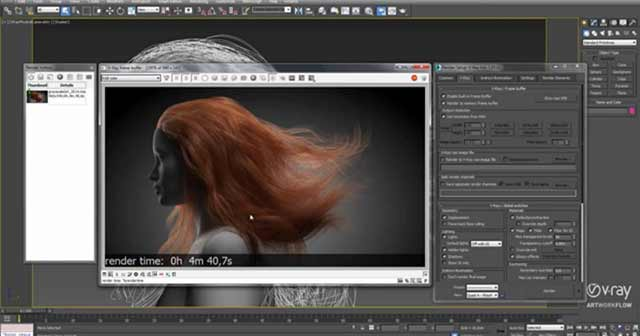 VRay 3.0 for 3dsMax Fast Render Preview