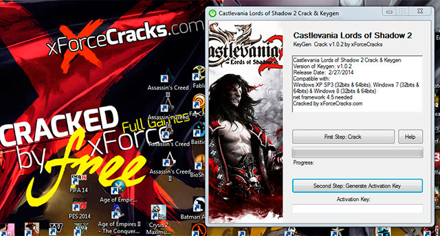 Castlevania Lords of Shadow 2 Crack v1.0.2 by xforce