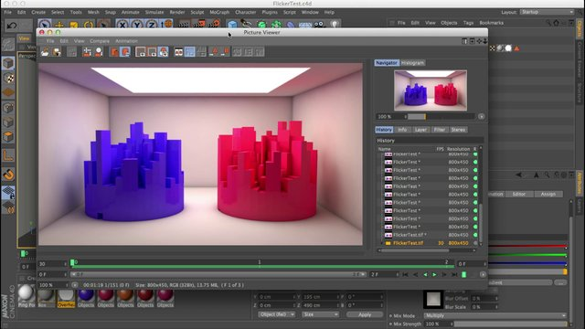 cinema 4d r15 render preview