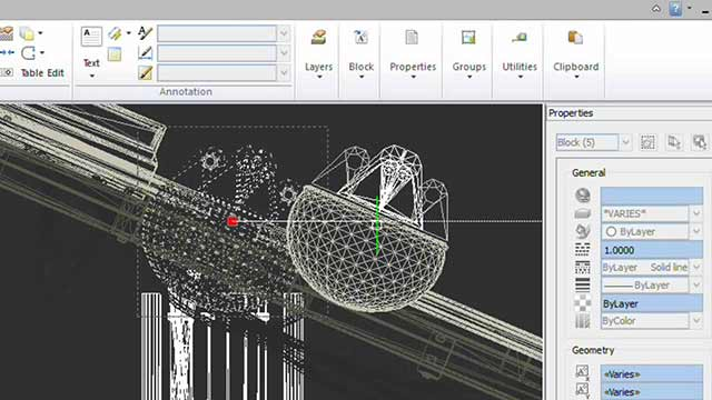 The simplest CAD software