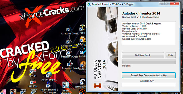 autocad 2014 crack 64 bit windows 10