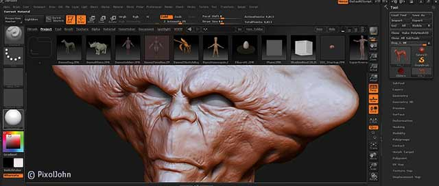 zBrush Screen Preview