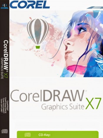 CorelDraw x7 Crack & Keygen [Win7-8-8 1(32-64b] Updated 2018