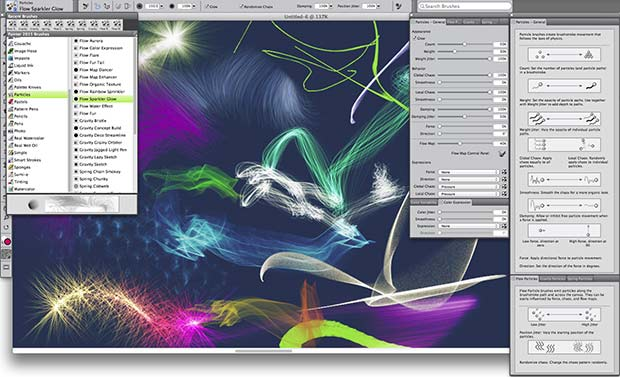 Painter 2015 new Brushes