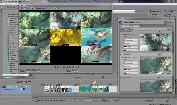 Vegas pro 13 new screen