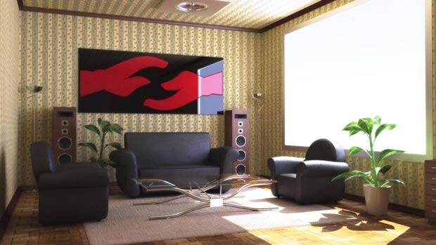 Vray 3 interior render in 3dsMax