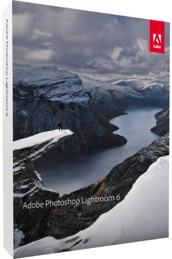 Adobe Photoshop Lightroom 6 box