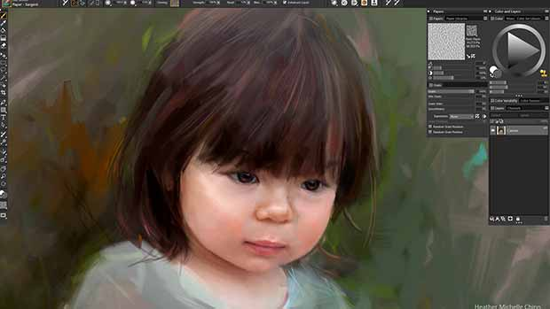 Corel Painter 2019 new layout