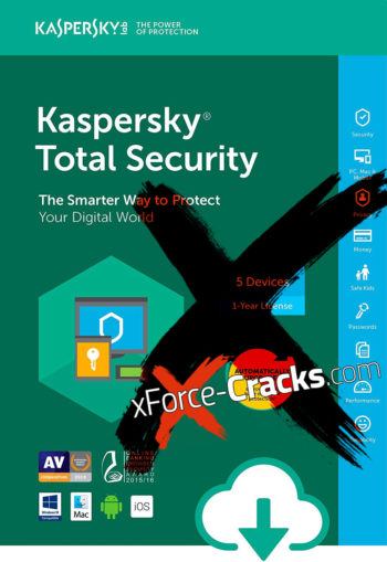 Kaspersky 2018 Internet Security cracked by xforce.