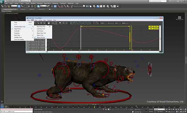 Manipulate animations directly in the viewport and get direct feedback when making adjustments in your scene.