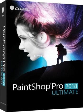 PaintShop Pro 2018 Ultimate box