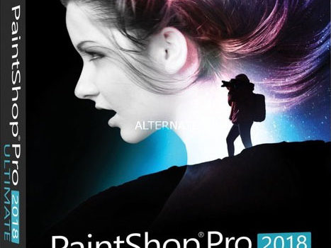 PaintShop Pro 2018 Ultimate box