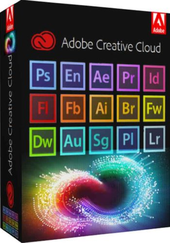 Adobe cc master 2018 box