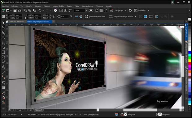 New Layout in this CorelDraw 2018