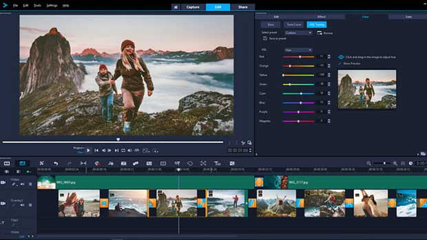Learn as you edit and create impressive videos right from the start.
