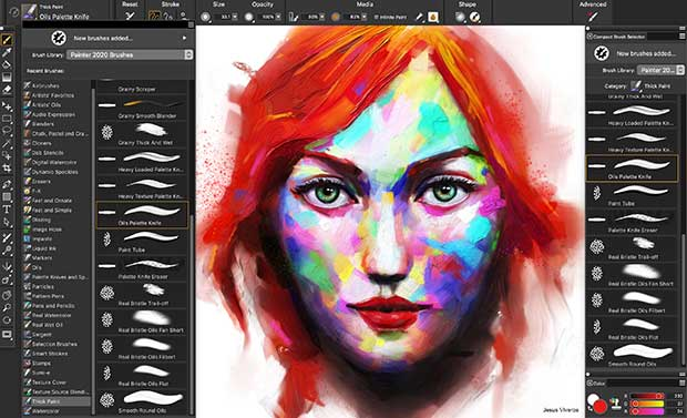 New brushes and customization capabilities.