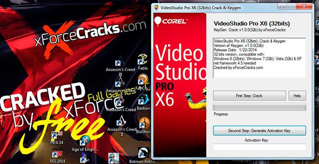 xforce keygen corel videostudio pro x6